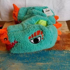 Kids lizard head slippers